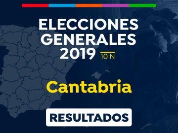 Elecciones generales 2019: Resultado de las elecciones generales en Cantabria el 10-N
