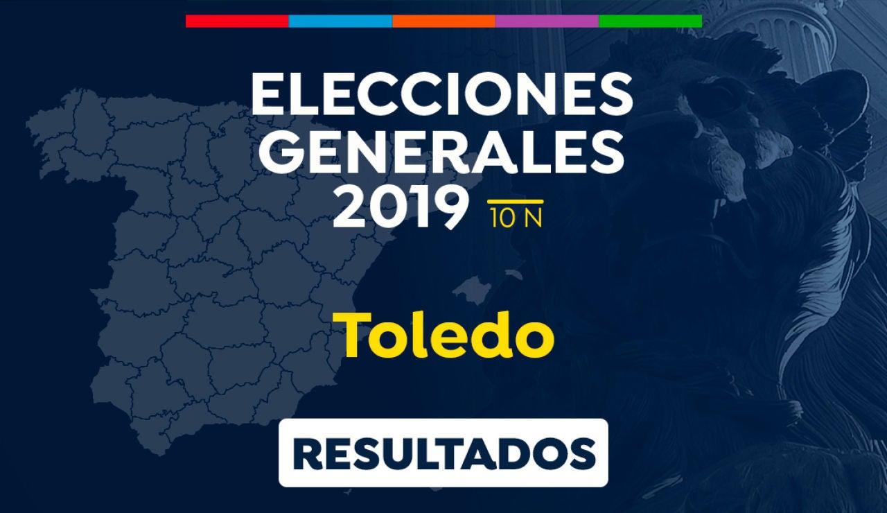 Elecciones generales 2019: Resultado de las elecciones generales en Toledo el 10-N