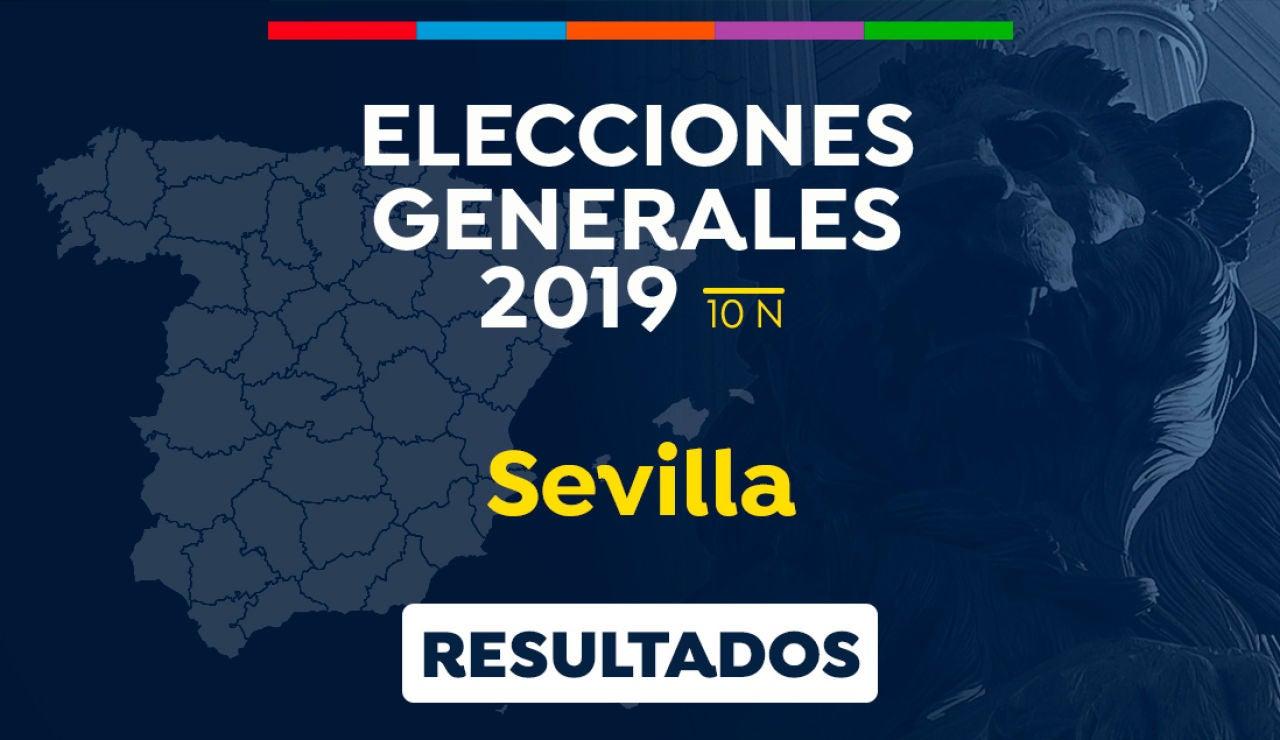 Elecciones generales 2019: Resultado de las elecciones generales en Sevilla el 10-N