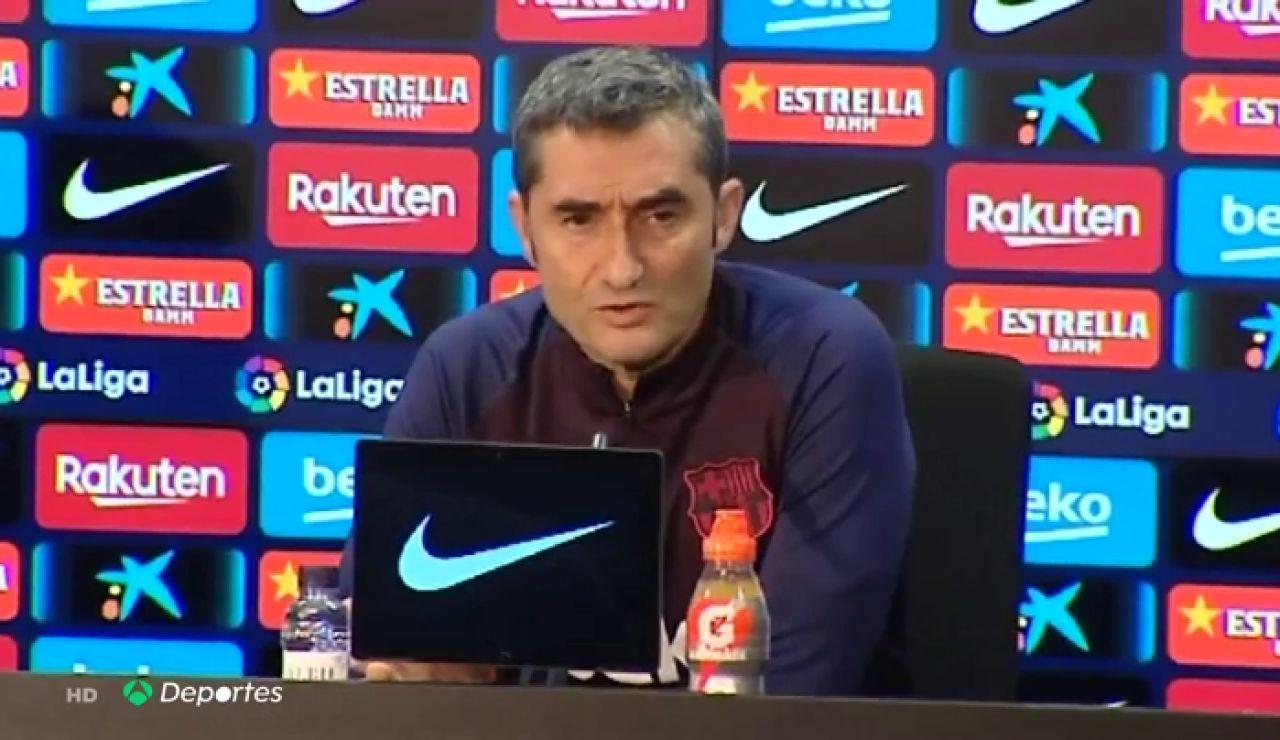 """Valverde: """"¿El Clásico al mediodía? No estaría bien de cara a la gente"""""""