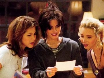 Rachel, Monica y Phoebe en 'Friends'