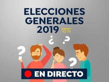 Elecciones generales 2019: La jornada de reflexión del 10N, última hora en directo