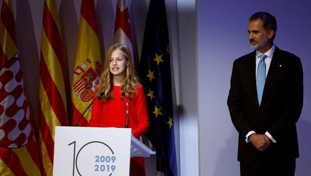Entrega de los Premios Princesa de Girona