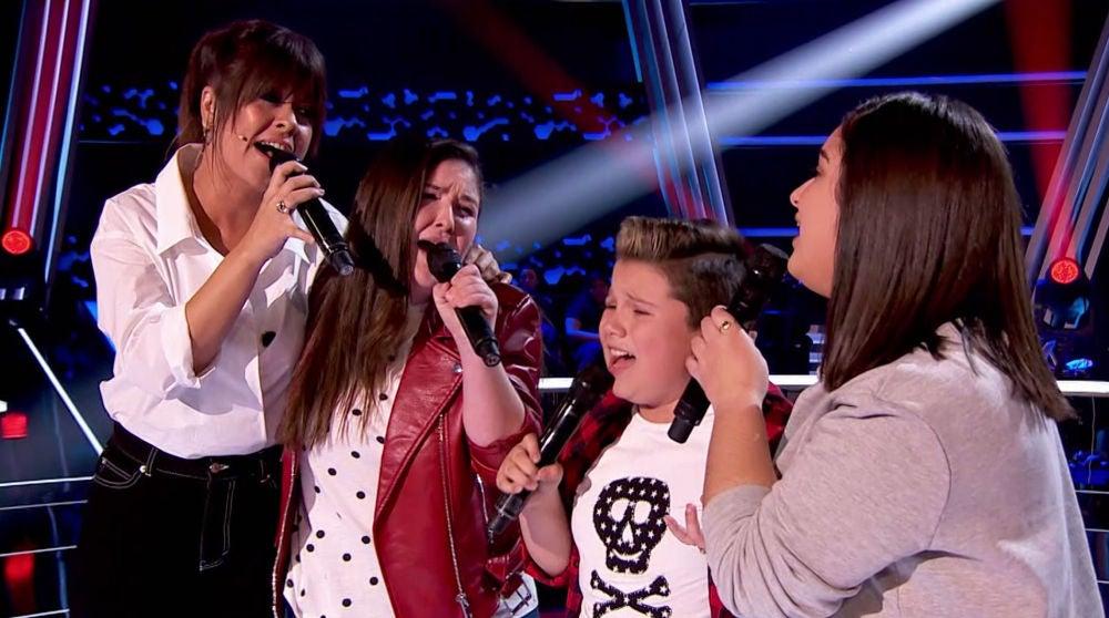 Vanesa Martín y tres talents de 'La Voz Kids' endulzan el plató con '90 minutos' de India Martínez