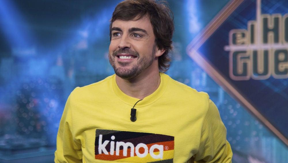 Fernando Alonso en 'El Hormiguero 3.0'