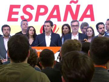 """Elecciones generales 2019: Albert Rivera anuncia un congreso extraordinario para que los militantes """"decidan el futuro del partido"""""""