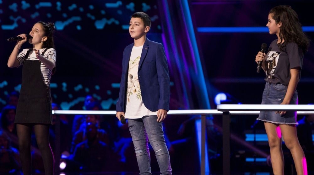 La batalla mágica de tres talents con la canción principal de 'La bella y la bestia' endulza 'La Voz Kids'