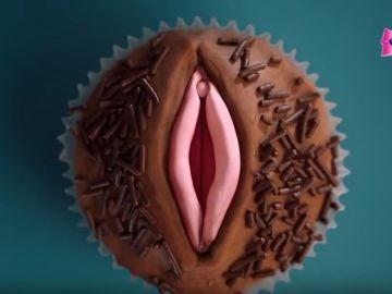 Imagen del anuncio de compresas 'Nana'.