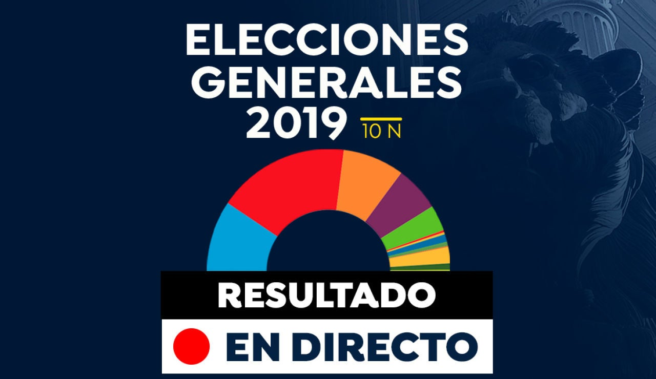 Resultado de las elecciones generales 2019: Escrutinio y recuento de votos hoy, en directo