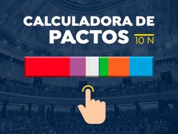 Pactómetro: Posibles pactos después de las elecciones generales 2019