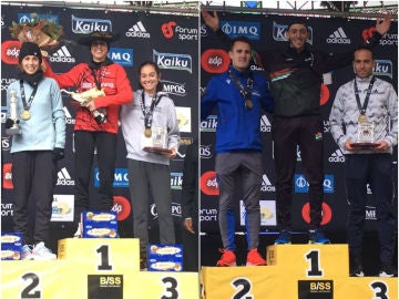 Los ganadores de la Behobia - San Sebastián