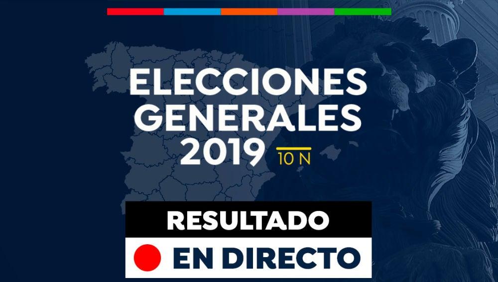 Elecciones generales 2019: Resultado de las elecciones generales de España en Noviembre, en directo