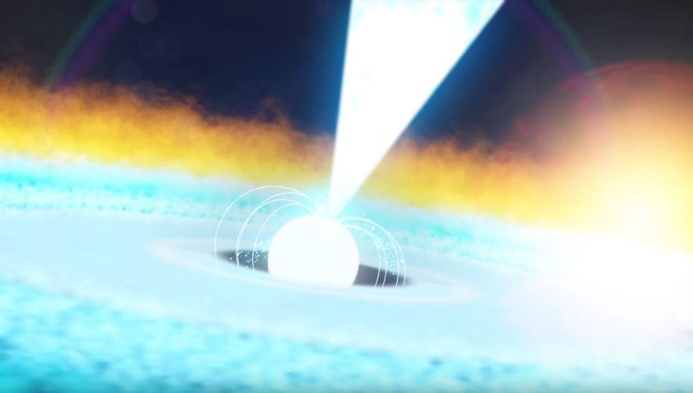 Telescopio de la NASA capta una explosión de rayos X