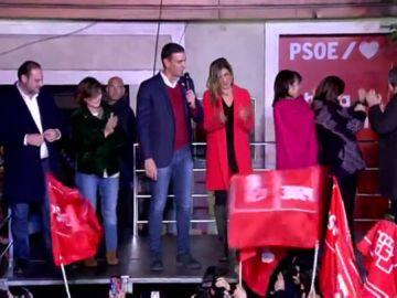 Pedro Sánchez tras el resultado de las elecciones generales, vídeo en directo