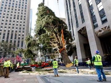 El árbol de Navidad en Rockefeller Center