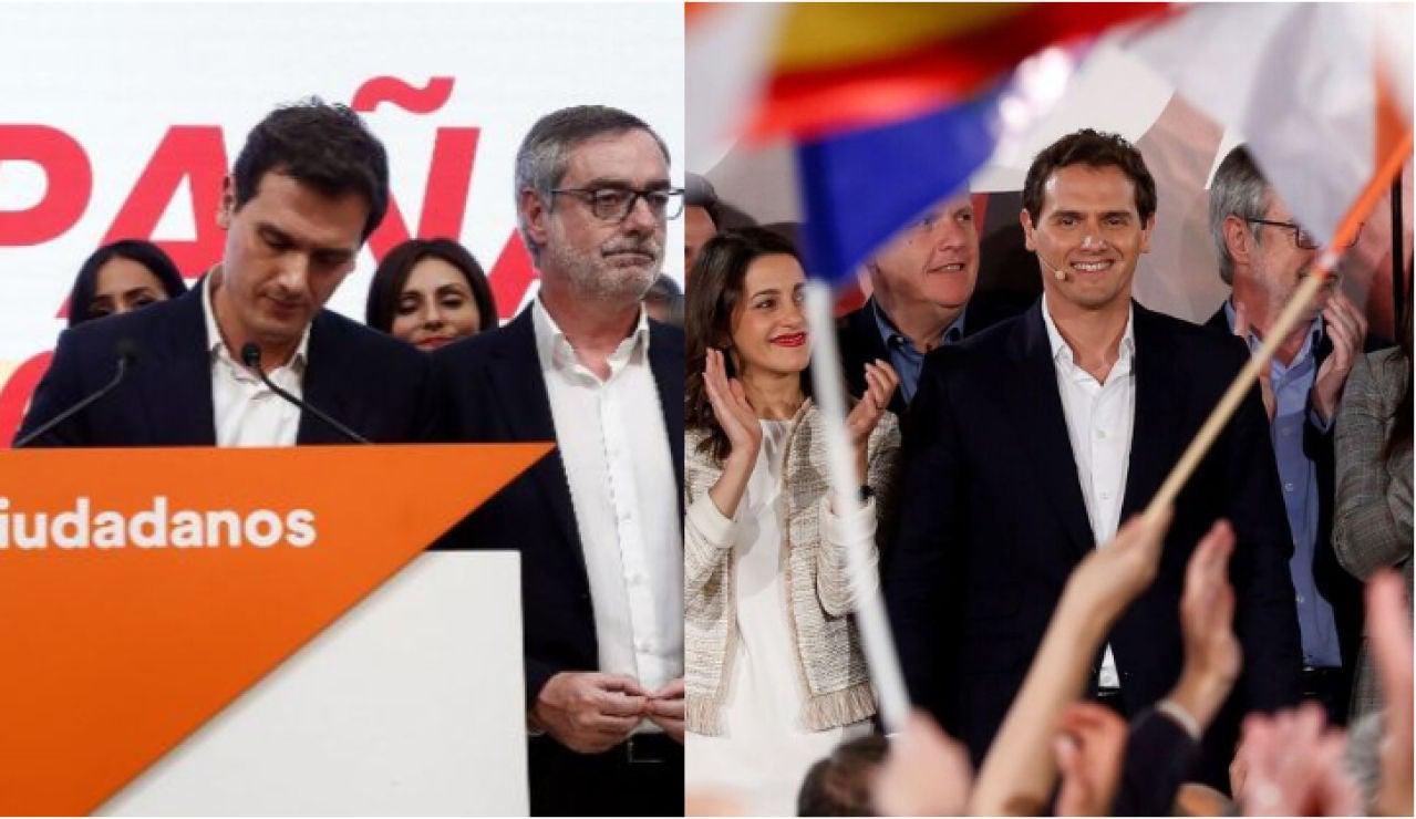 Rivera en las elecciones de abril y en las de noviembre