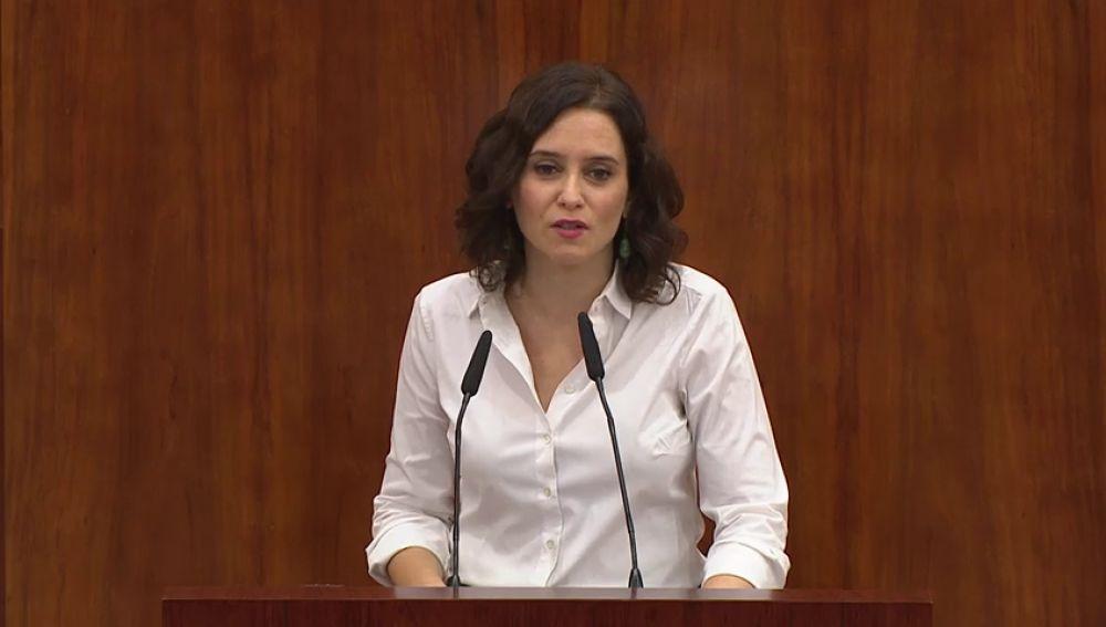 Díaz Ayuso y sus antecesores en la Comunidad de Madrid no comparecerán en la comisión de investigación de Avalmadrid