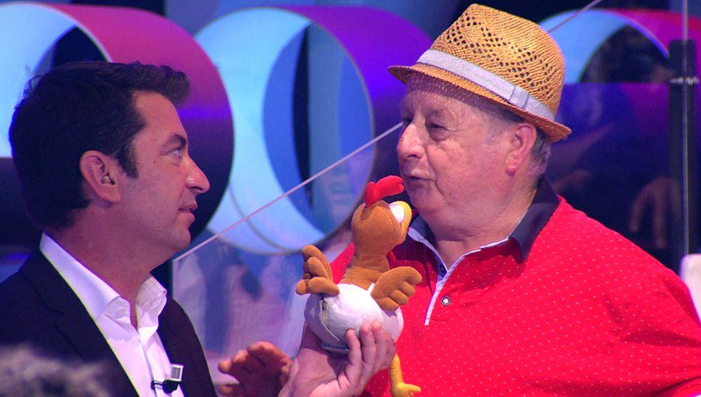 """El chiste del señor del Tirol de '¡Ahora caigo!': """"¡Todo un showman!"""""""