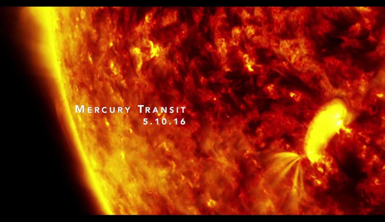 Streaming del paso de Mercurio por delante del Sol, en directo