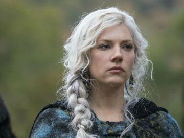 Lagertha en la quinta temporada de 'Vikingos'