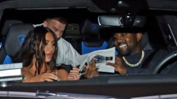 Kim Kardashian y Kanye West no se pierden la fiesta de cumpleaños de Corey Gamble