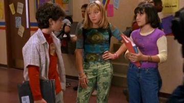 Gordo, Lizzie y Miranda en 'Lizzie McGuire'