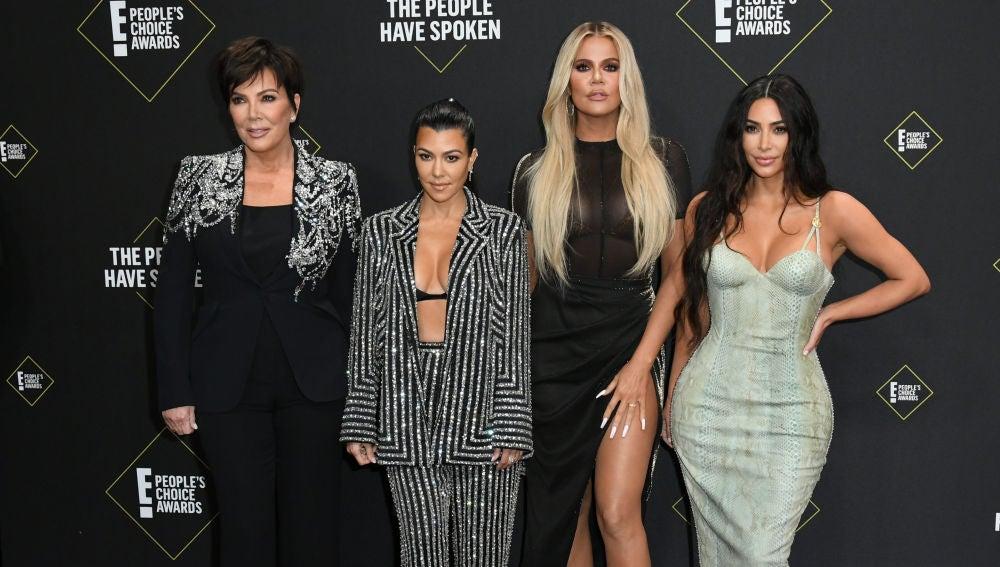 Kim Kardashian, Kris Jenner, Kourtney Kardashian y Khloé Kardashian