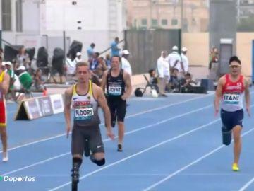 Johannes Floors y su increíble récord en los 100 metros corriendo con dos prótesis