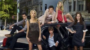 Los protagonistas de 'Gossip Girl'
