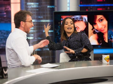 """Anitta explica en 'El Hormiguero 3.0' su afición a la cirugía estética: """"Yo misma diseñé mi cara"""""""