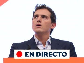 Albert Rivera dimite de Ciudadanos tras los resultados de las elecciones generales 2019, en directo