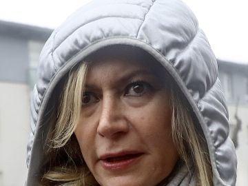 La madre de Diana Quer sale del juzgado