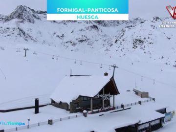 Aramón Formigal adelanta su apertura de la temporada por las grandes nevadas