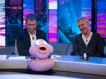 Petancas homenajea a Sergio Dalma en 'El Hormiguero 3.0' y canta 'Cenar lechuga no es cenar'