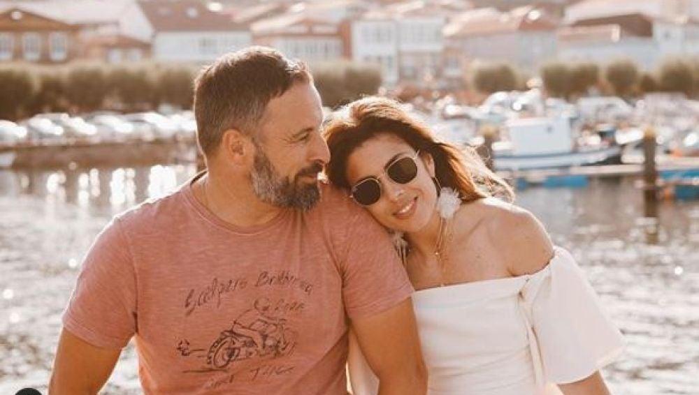 Santiago Abascal Abascal y Lidia Bedman
