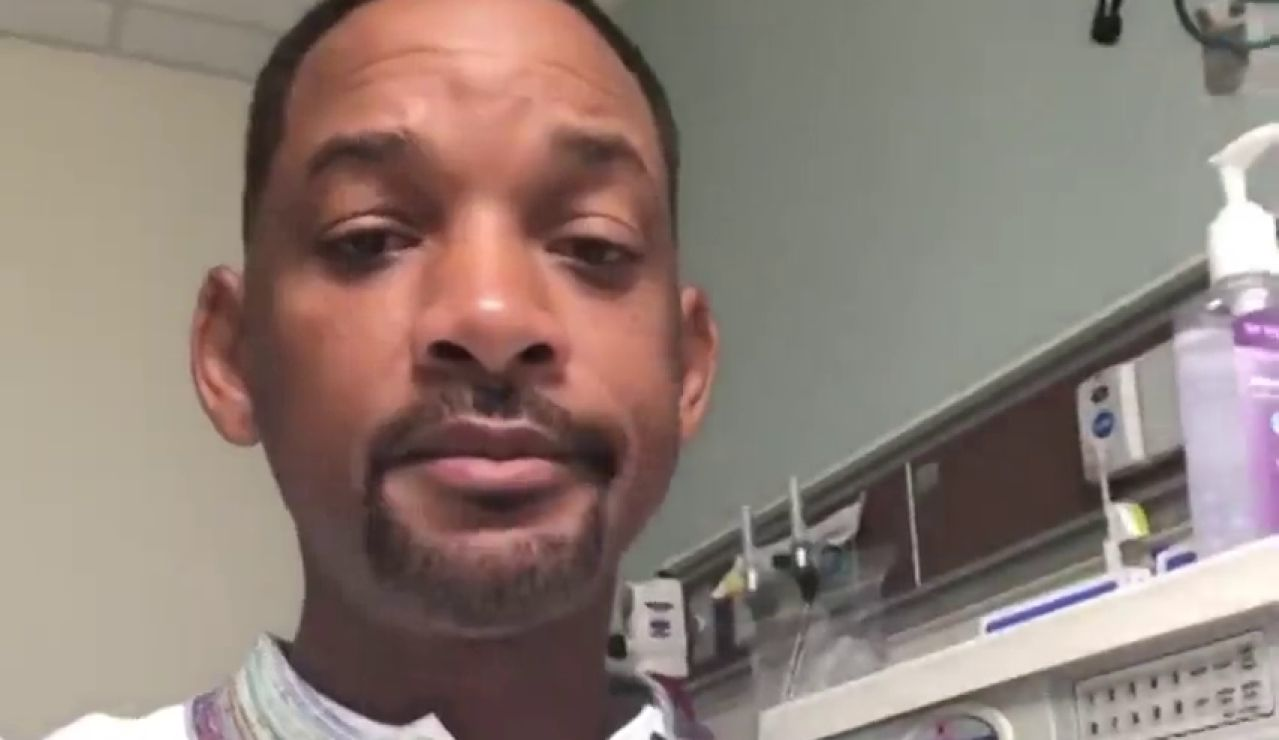 Will Smith se somete a una colonoscopia y anima a sus seguidores a que se la hagan