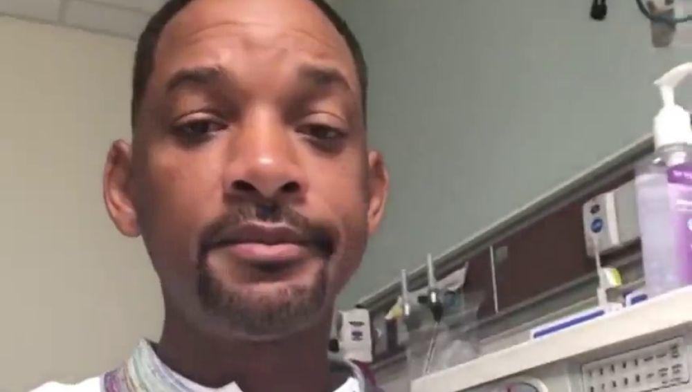 Will Smith se somete a una colonoscopia y anima a sus seguidores a que se la hagan