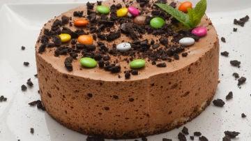 Tarta mousse de chocolate y café