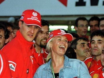 Michael Schumacher y su mujer Corinna