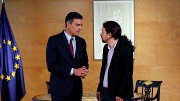 Elecciones Generales 2019: Pedro Sánchez y Pablo Iglesias