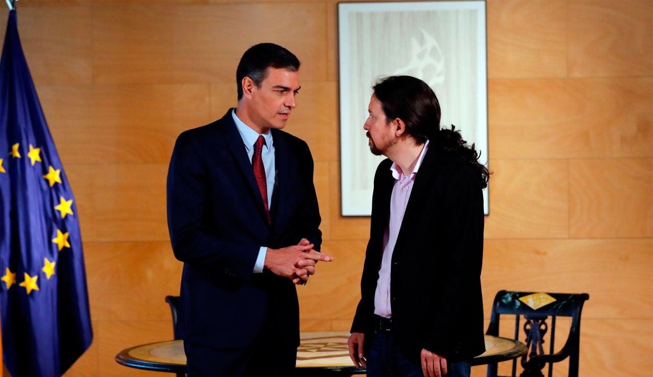 Pedro Sánchez y Pablo Iglesias se reunirán en el Congreso para ultimar un principio de acuerdo