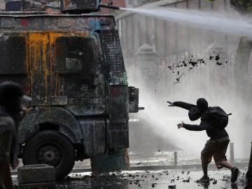 24 días de enfrentamientos en Chile