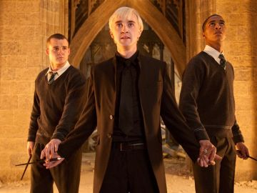 Tom Felton como Draco Malfoy en 'Harry Potter'