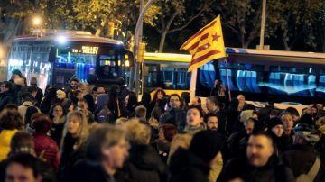 Los CDR cortan las principales avenidas de acceso y salida de Barcelona