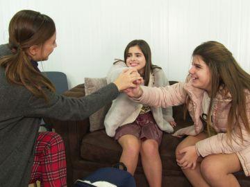 Claudia, Marta y Ruslana sueñan con formar un grupo de música después de las Batallas de 'La Voz Kids'