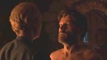 Jaime Lannister y Brienne de Tarth en 'Juego de Tronos'