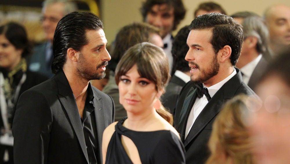 Blanca Suárez, Mario Casas y Hugo Silva