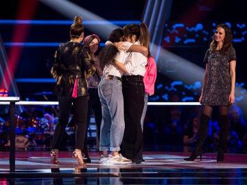 Aysha Bengoetxea, escogida por Vanesa Martín y Pastora Soler en las Batallas de 'La Voz Kids'