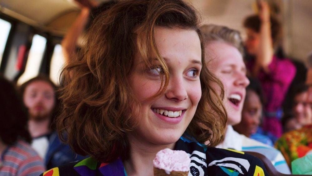 Millie Bobby Brown como Eleven en 'Stranger Things'