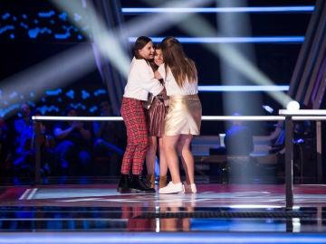 Rosario y Lolita escogen a Marta Pérez en las Batallas de 'La Voz Kids'
